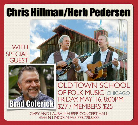 Old Town School of Folk Music, Chicago - Friday, May 16